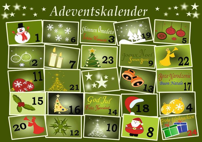 Weihnachten Duden.Duden Adventkalender Rechtschreibung Bedeutung Definition