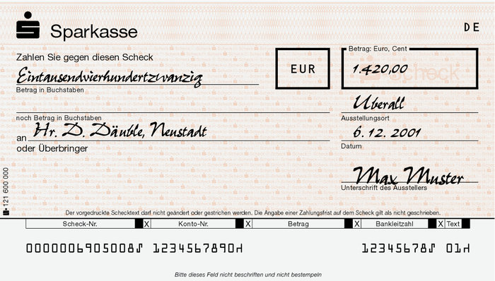 Geldcheck