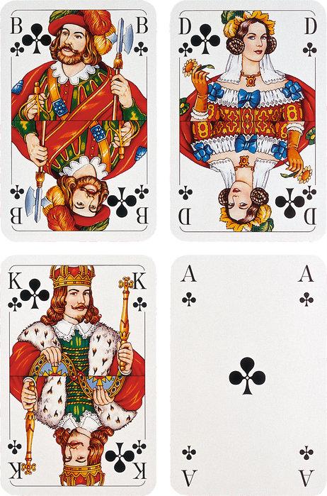 König Dame Paar Im Kartenspiel