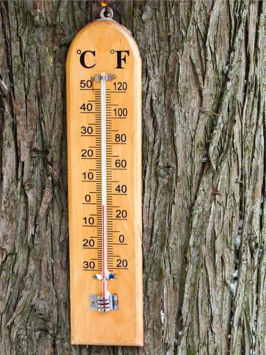 thermometer gradeinheit