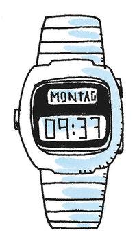 Armbanduhr - Digitale Armbanduhr