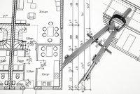 Ausbauplan - Ausbauplan mit Zirkel