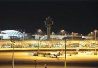Außenbeleuchtung - Außenbeleuchtung eines Flughafens