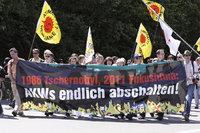 Ausstieg - Demonstration für den Ausstieg aus der Atomenergie