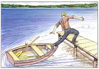 Ausstieg - Der Ausstieg aus dem Boot