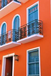 Balkontür - Balkon mit Balkontür