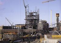 Bau - Bau eines Gebäudes