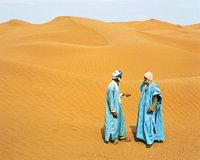 Beduine - Zwei Beduinen