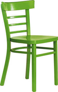Bein - Stuhl mit vier Beinen