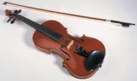 Bogen - Geige mit Bogen