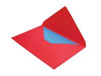 Briefkarte - Eine Briefkarte in einem Umschlag