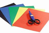 Buntpapier - Buntpapier und Bastelschere
