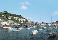 Cornwall - Ein Hafen in Cornwall