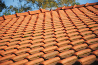 Dachhaut - Dachhaut aus Tondachziegeln
