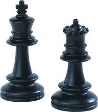 Dame - Dame (rechts) und König