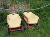 Deichselkreuz - Handwagen mit Deichselkreuzen