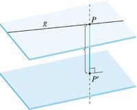 Distanz - Die Distanz zwischen P und P'