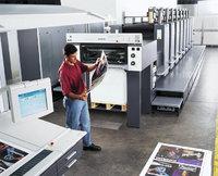 Drucker - Drucker in einer Druckerei
