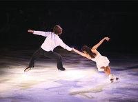 Eisläuferin - Eiskunstläuferin und Eiskunstläufer