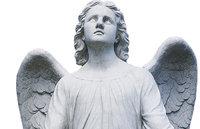 Engel - Figur eines Engels aus Stein