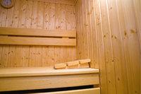 Espenholz - Aus Espenholz gebaute Sauna