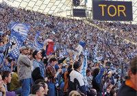 Fan - Fans in einem Fußballstadion