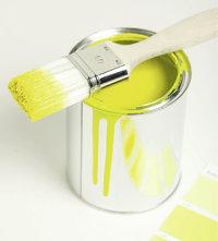 Farbe - Farbe in einer Dose (und ein Pinsel)
