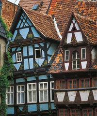 Fassade - Fassaden von Fachwerkhäusern