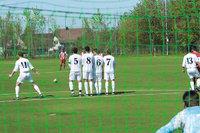 Feld - Fußballspieler auf dem Feld