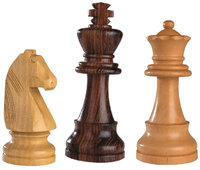 Figur - Verschiedene Figuren: Springer, König, Dame