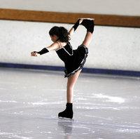 Figur - Figur bei Eislaufen (Pirouette)