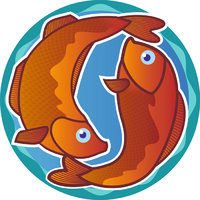 Fisch - Symbolische Darstellung des Tierkreiszeichens Fisch
