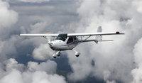 Flug - Flug einer Propellermaschine
