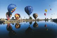 Freiballon - Zahlreiche Freiballons