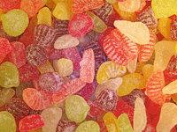 Fruchtbonbon - Verschiedenfarbige Fruchtbonbons