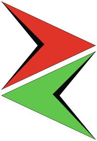 Gegenfarbe - Rot und Grün als Komplementärfarben