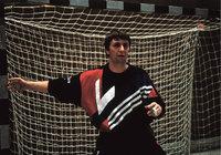 Gehäuse - Handballtorhüter in einem Gehäuse