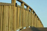 Geländer - Geländer einer Brücke