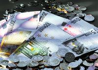 Geld - Geld in Euromünzen und Eurobanknoten