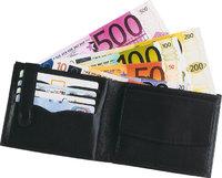 Geldbeutel - Geldbeutel mit Euroscheinen