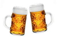 Gerstensaft - Zwei volle Biergläser
