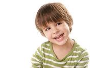 Gesicht - Schelmisches Gesicht eines Jungen