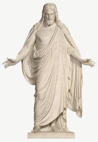 Gottessohn - Darstellung Jesus Christus als Steinfigur