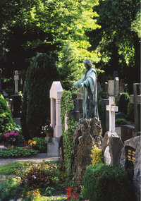 Grabstein - Grabsteine auf einem Friedhof