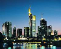 Großstadt - Skyline einer Großstadt