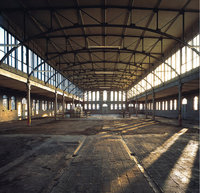 Halle - Eine Halle von innen