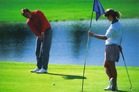 Hobby - Golf spielen als Hobby