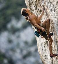 Höhe - Kletterer in großer Höhe