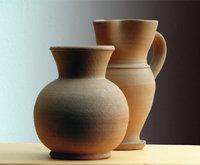 Irdenware - Krug und Vase