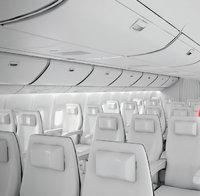 Kabine - Kabine eines Flugzeugs